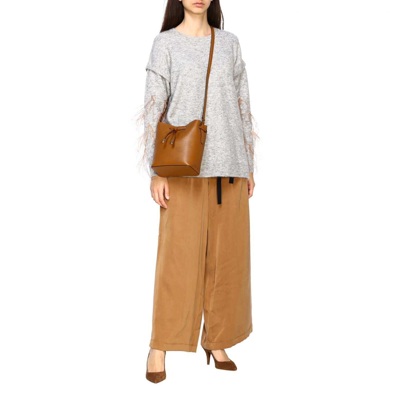 Handbag women Lauren Ralph Lauren brown 2