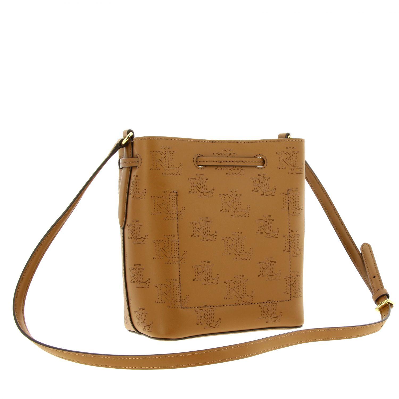 Handbag women Lauren Ralph Lauren brown 3