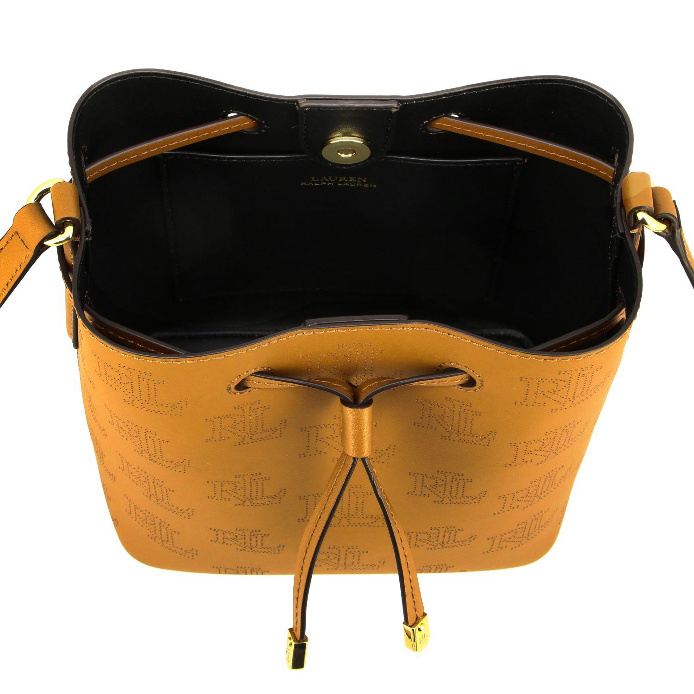 Handbag women Lauren Ralph Lauren brown 5