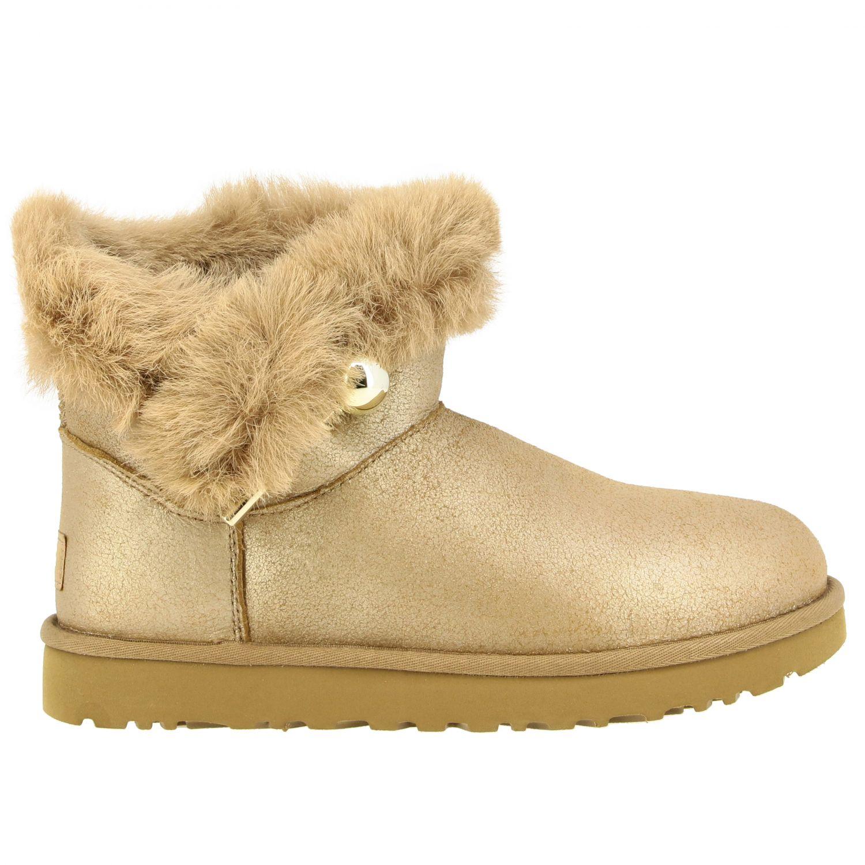 平底靴 Ugg Australia: 平底靴 女士 Ugg Australia 珍珠色 1