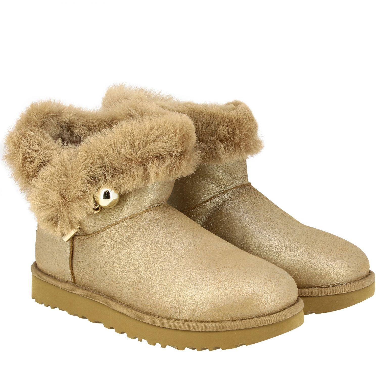 平底靴 Ugg Australia: 平底靴 女士 Ugg Australia 珍珠色 2
