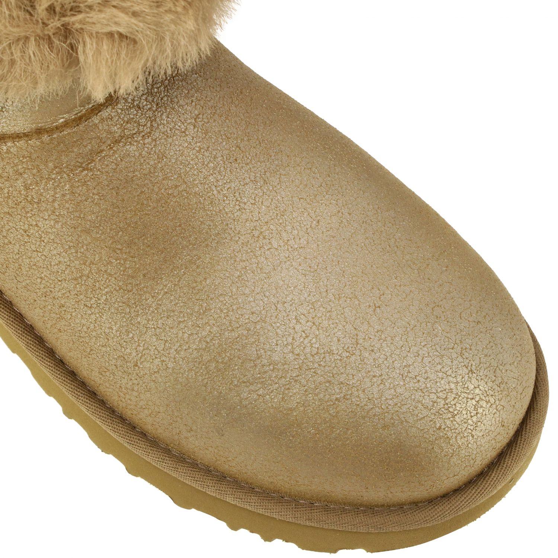 平底靴 Ugg Australia: 平底靴 女士 Ugg Australia 珍珠色 4