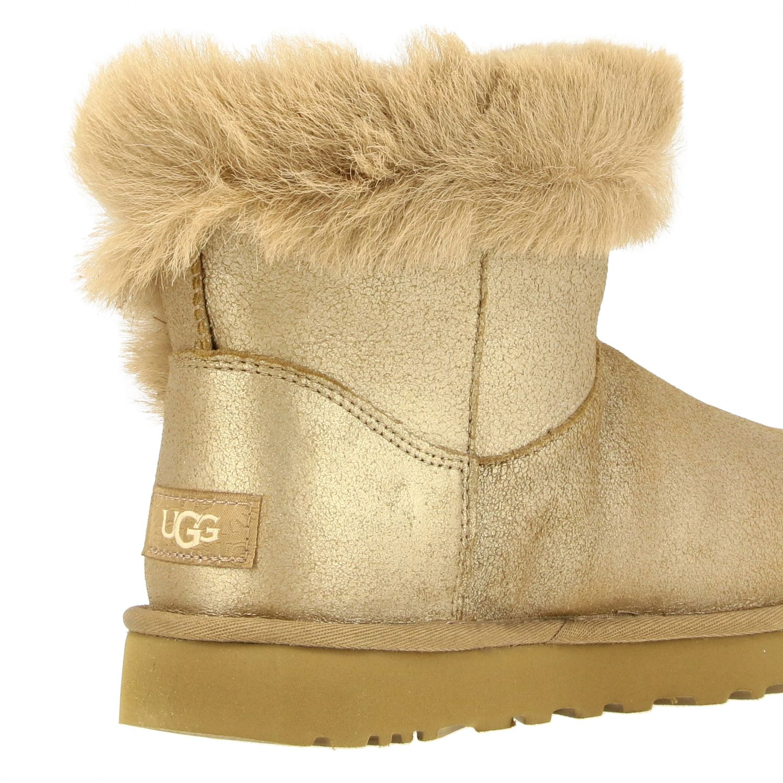 平底靴 Ugg Australia: 平底靴 女士 Ugg Australia 珍珠色 5