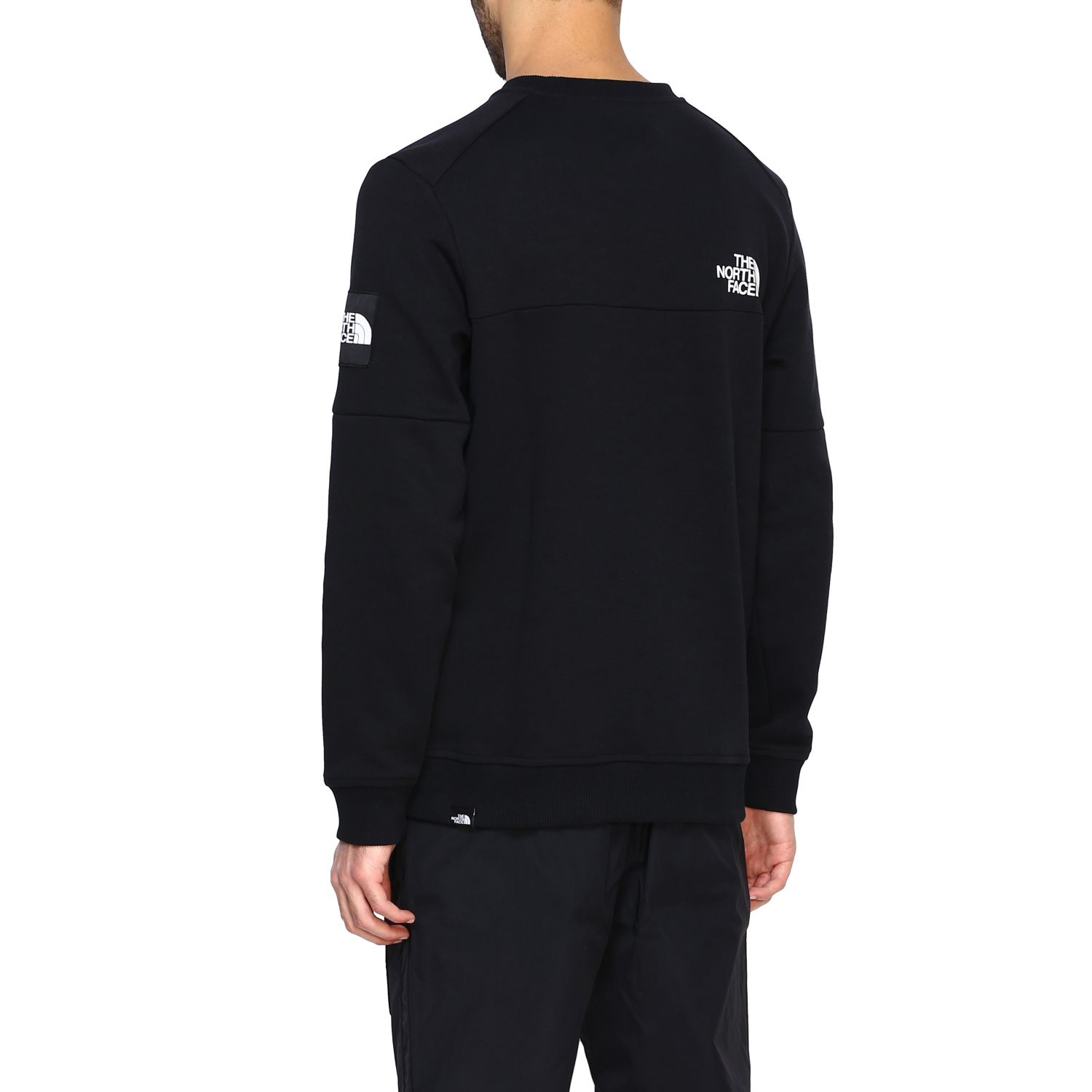 Sweatshirt herren The North Face schwarz 3