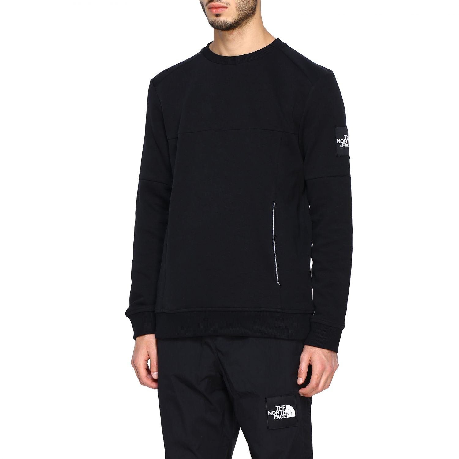 Sweatshirt herren The North Face schwarz 4