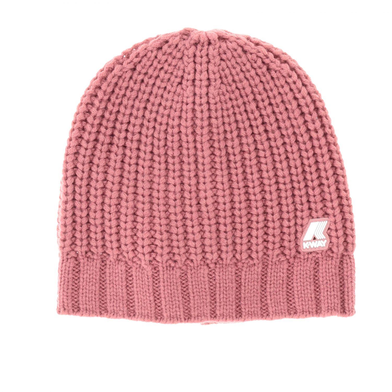 Hat kids K-way pink 1