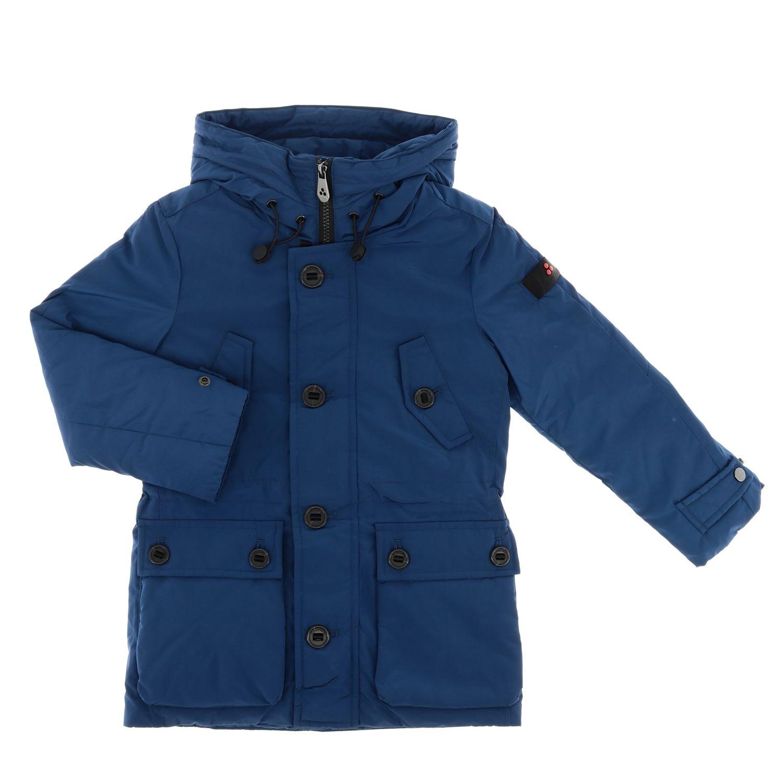 Jacket kids Peuterey teal 1