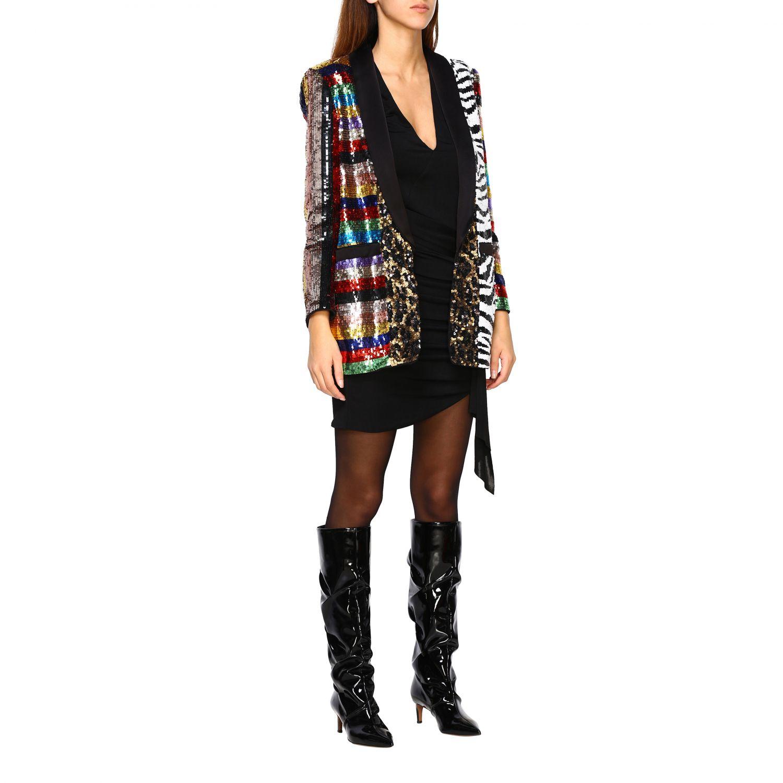 Blazer Alice+Olivia: Jacket women Alice+olivia multicolor 2