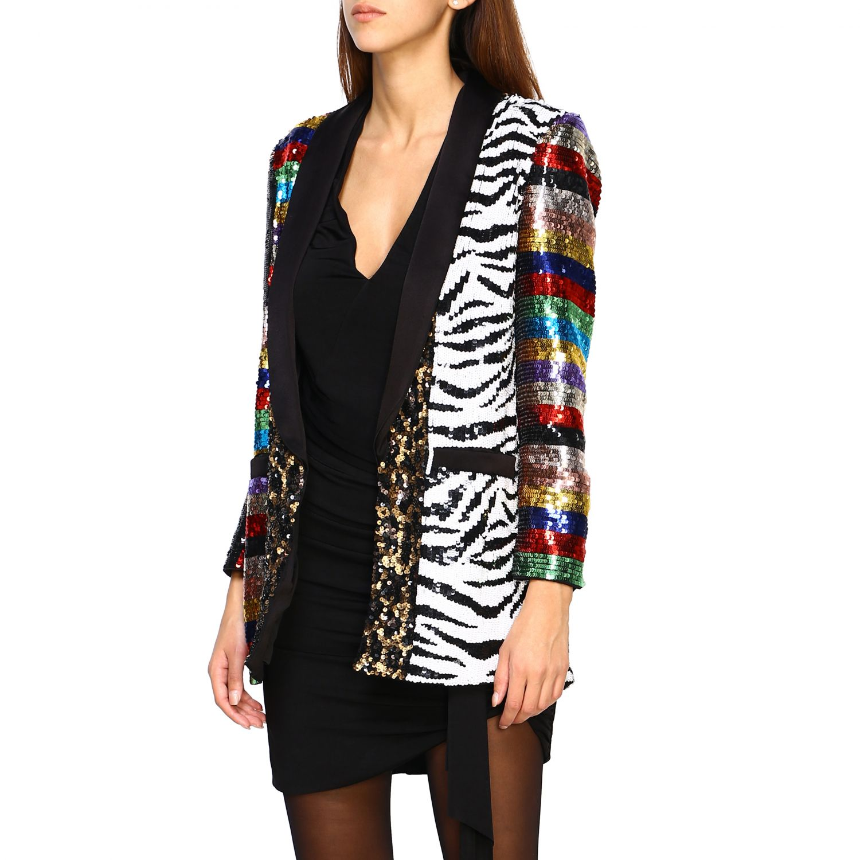 Blazer Alice+Olivia: Jacket women Alice+olivia multicolor 4
