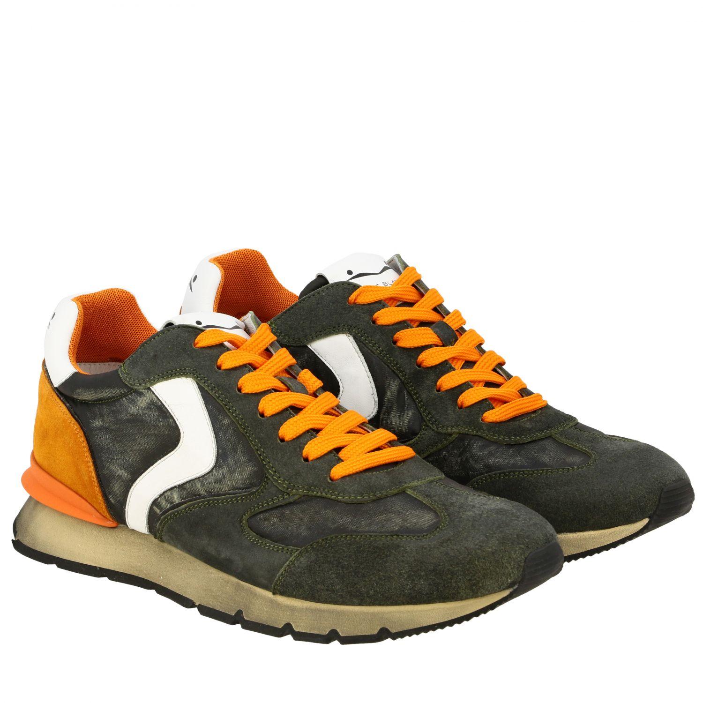 Sneakers uomo Voile Blanche militare 2