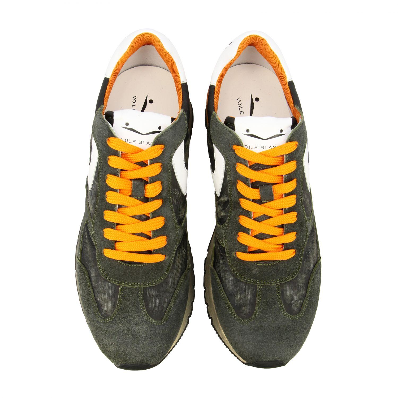 Sneakers uomo Voile Blanche militare 3