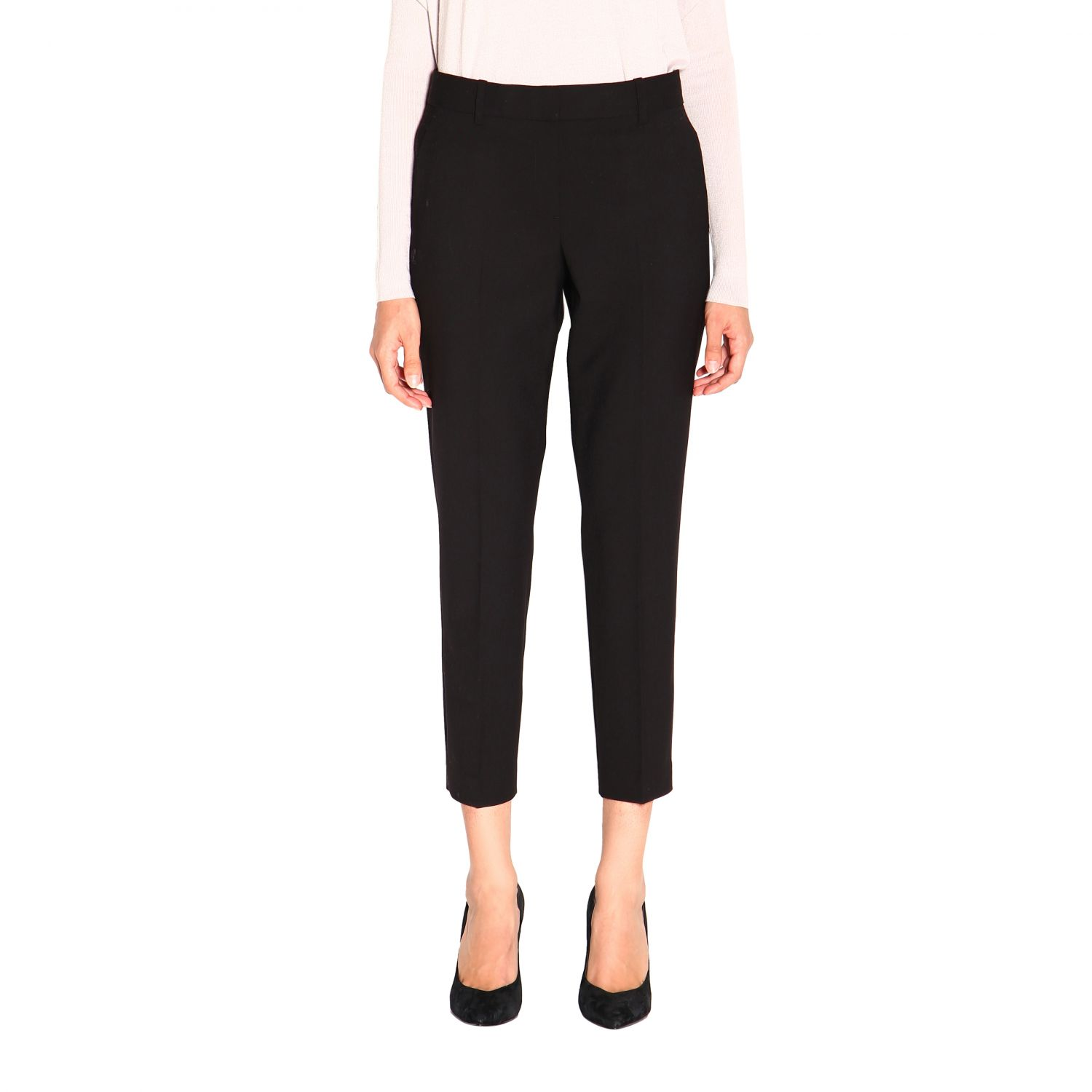 Trousers women Theory black 1