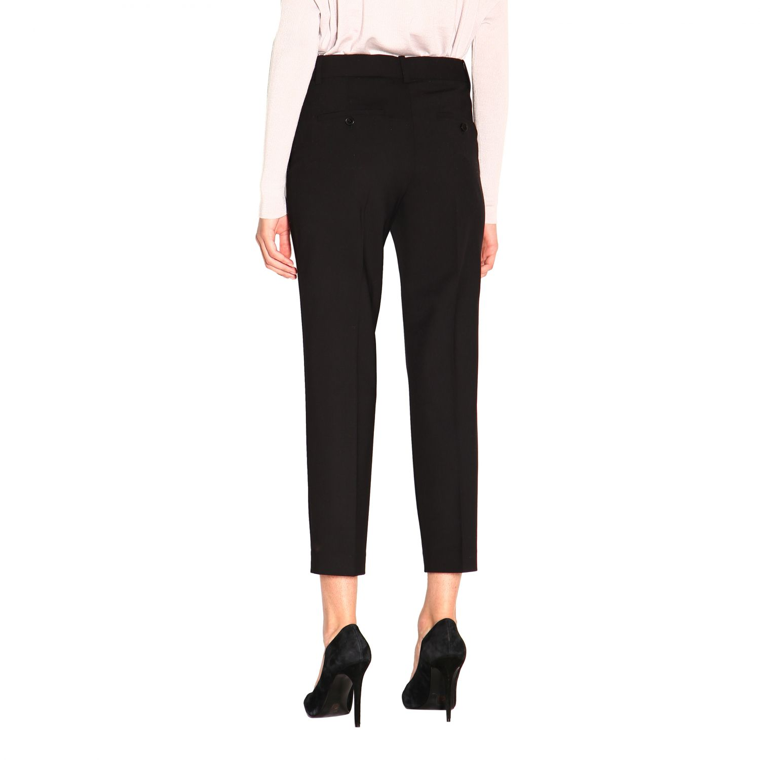 Trousers women Theory black 3