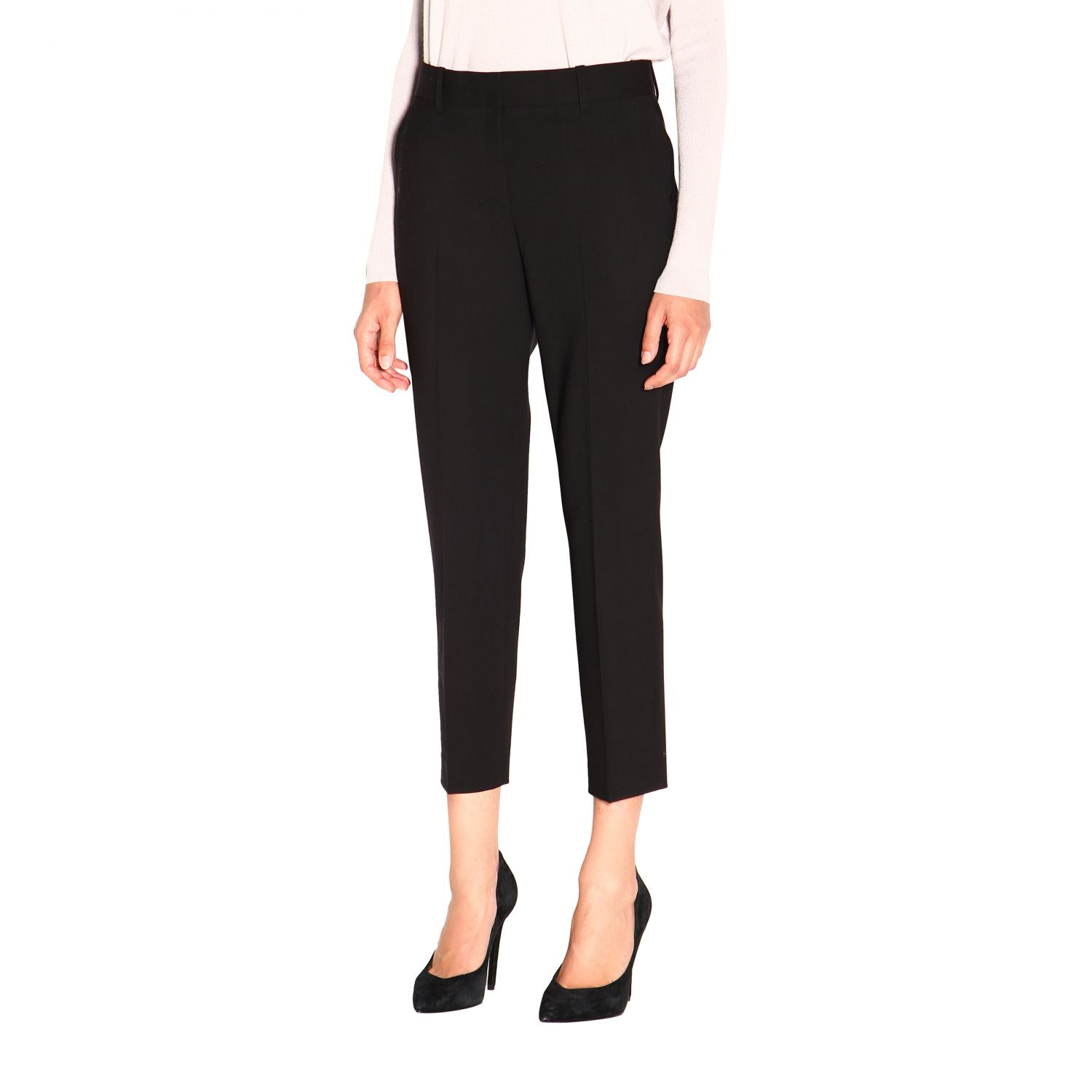 Trousers women Theory black 4