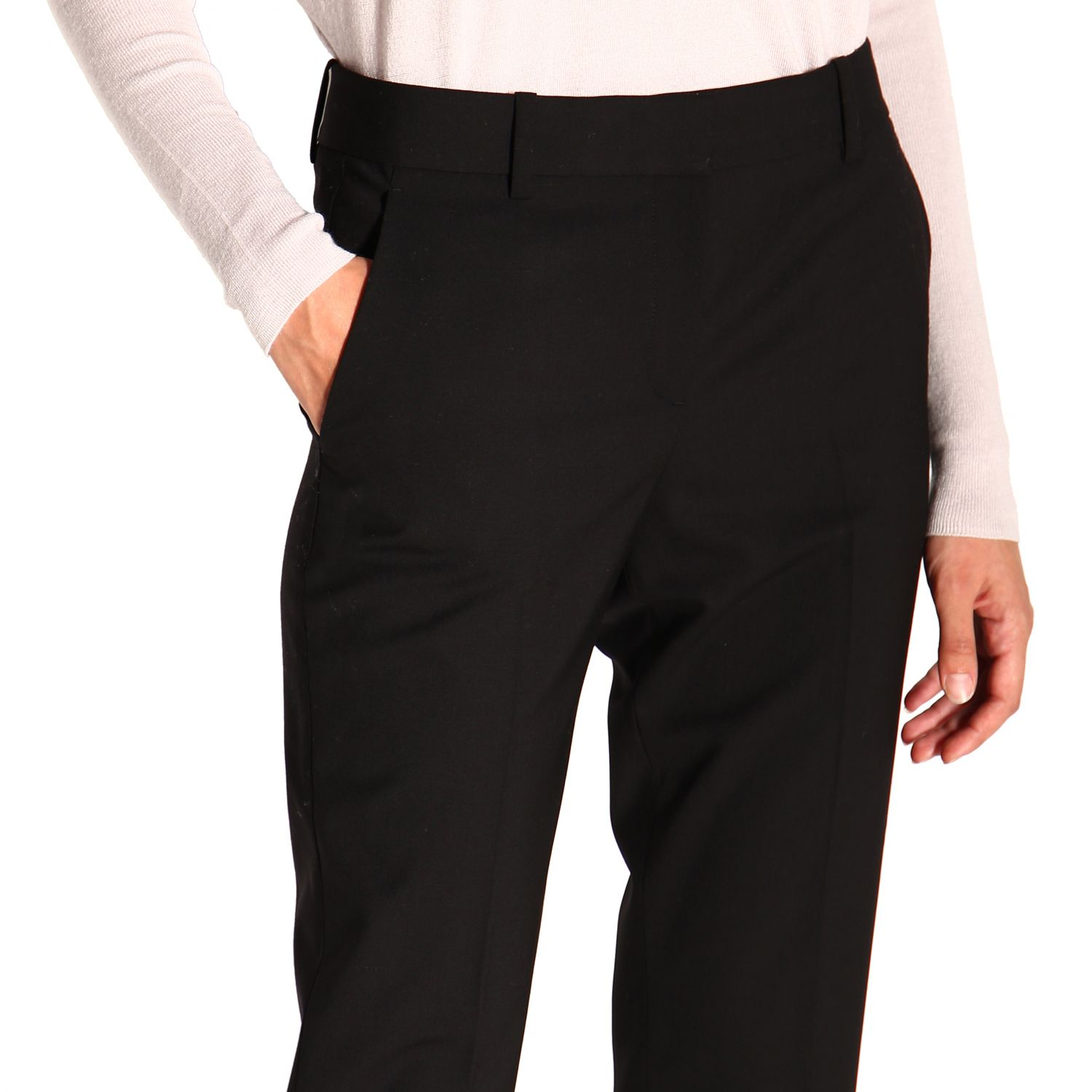 Trousers women Theory black 5