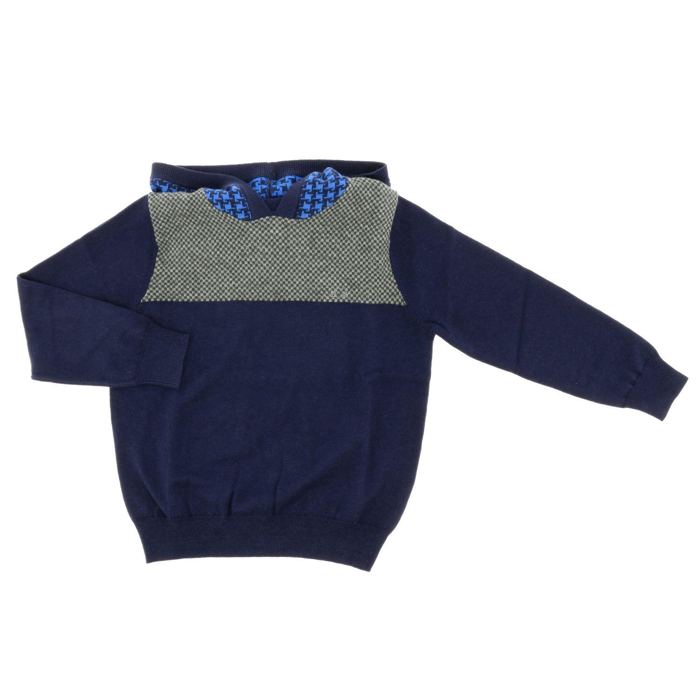 Pull enfant Sun 68 bleu 1