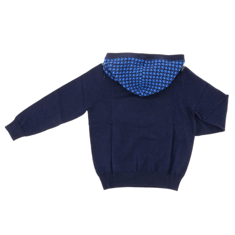 Pull enfant Sun 68 bleu 2