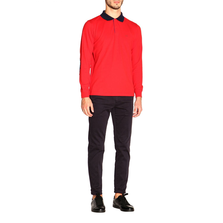 Camiseta hombre Sun 68 rojo 2