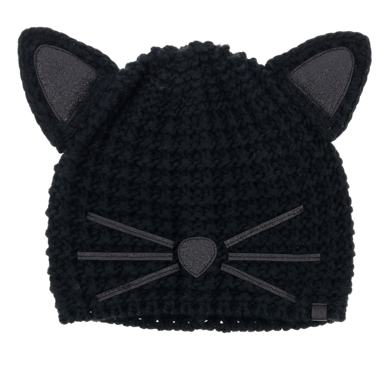 Sombrero mujer Karl Lagerfeld negro 1