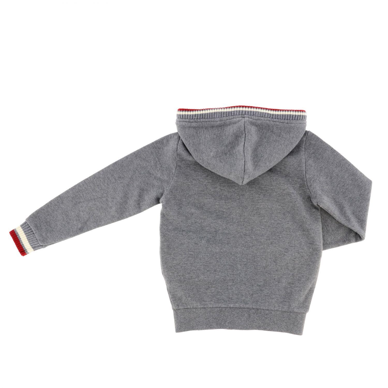 Pull enfant Sun 68 gris 2