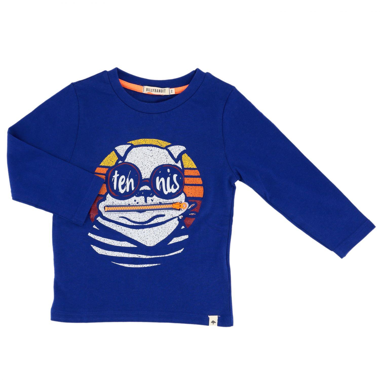 Camiseta niños Billybandit azul oscuro 1