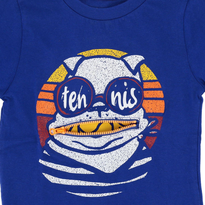 Camiseta niños Billybandit azul oscuro 3