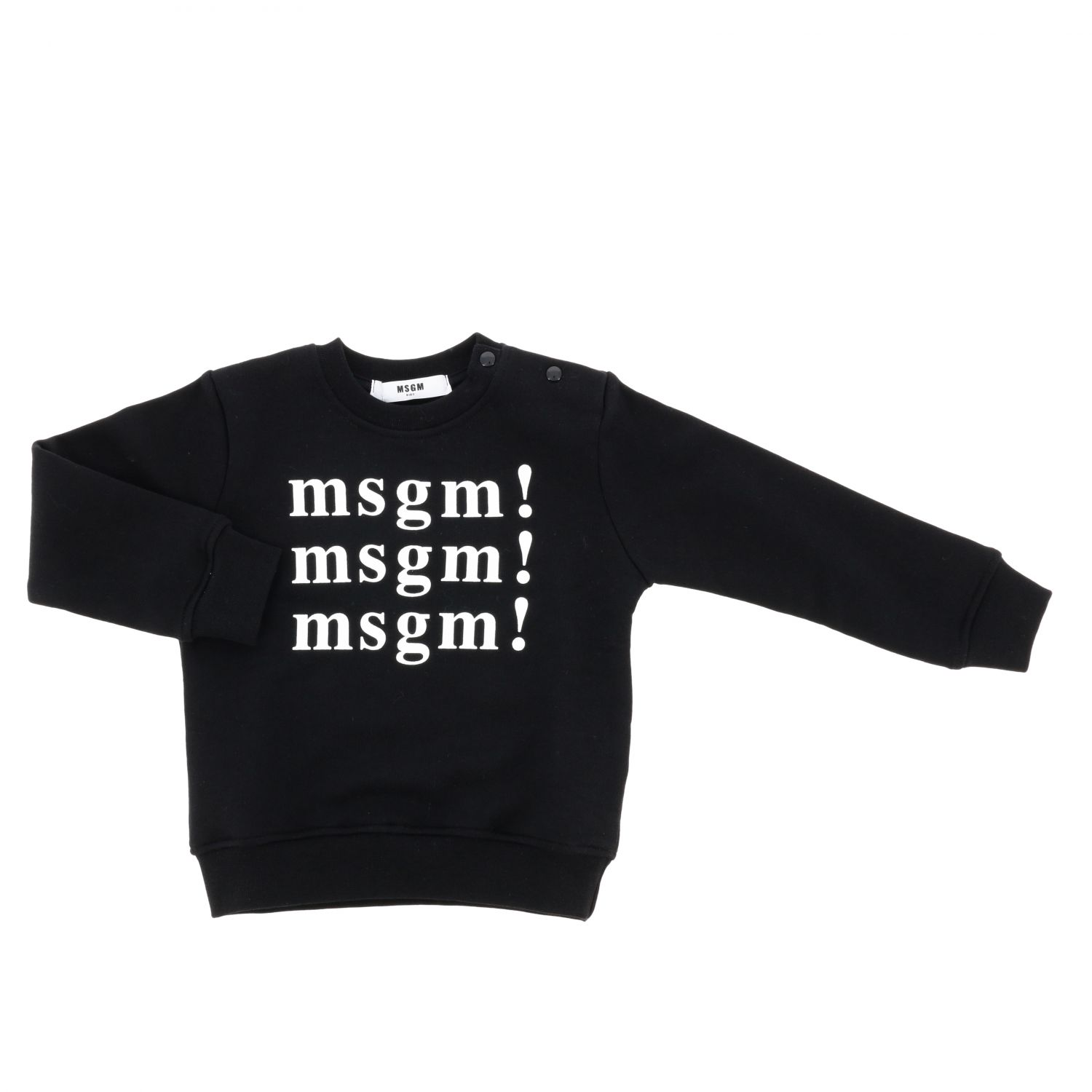 Sweater kids Msgm Kids black 1