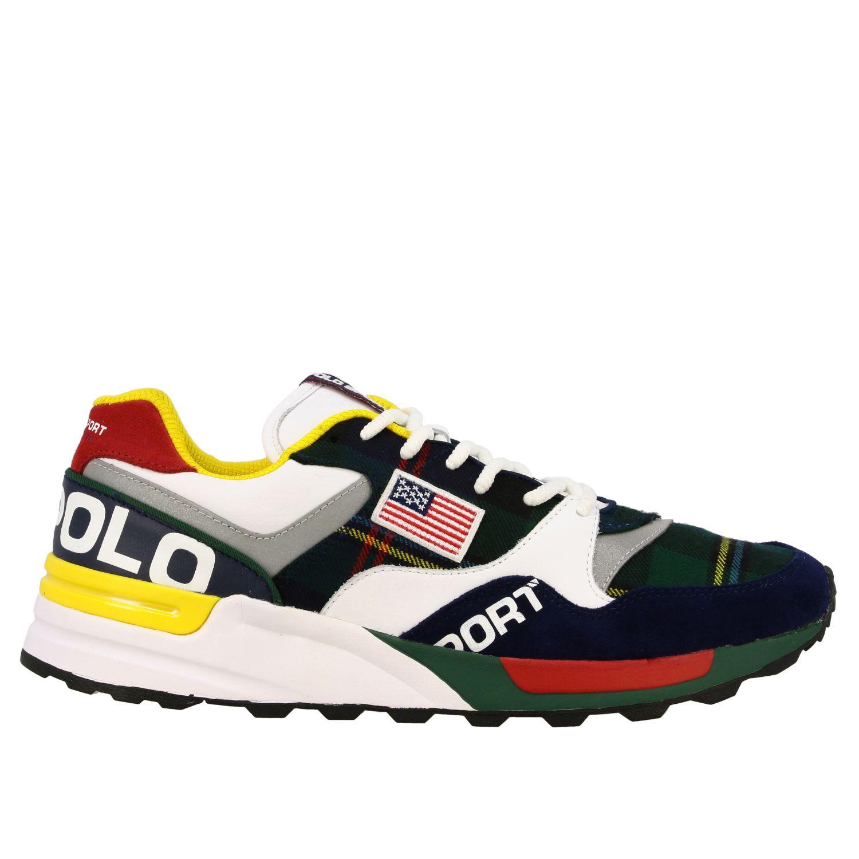 men's polo high top sneakers
