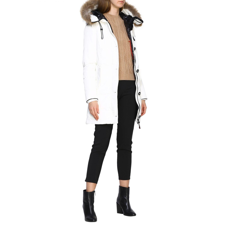 Jacket women Museum white 2