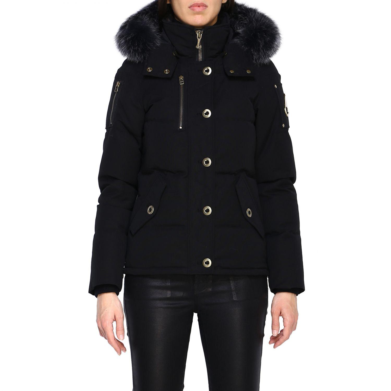 Manteau femme Moose Knuckles noir 1