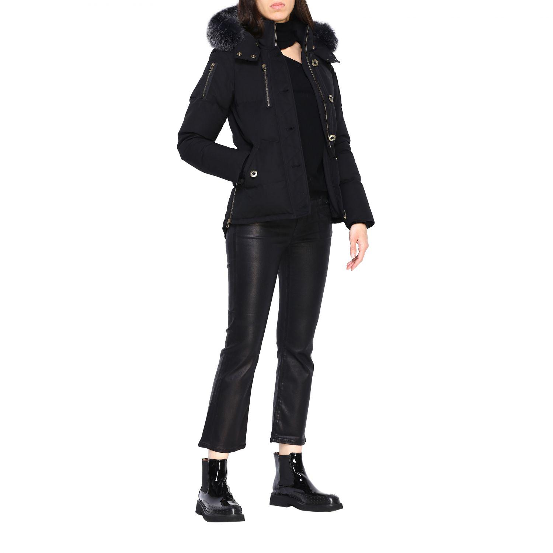 Manteau femme Moose Knuckles noir 2