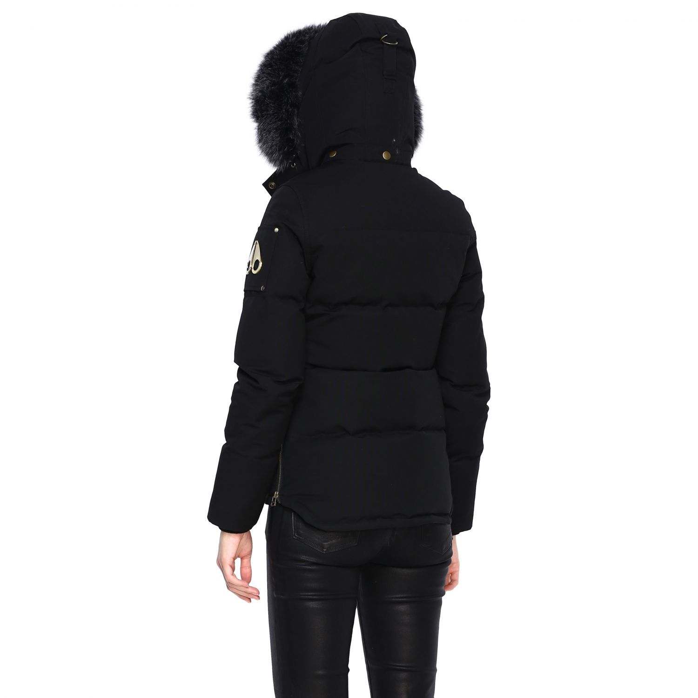 Manteau femme Moose Knuckles noir 3