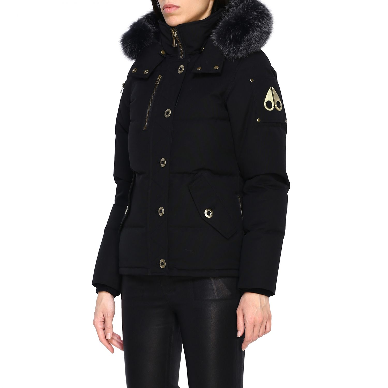 Manteau femme Moose Knuckles noir 4