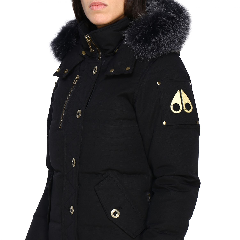 Manteau femme Moose Knuckles noir 5