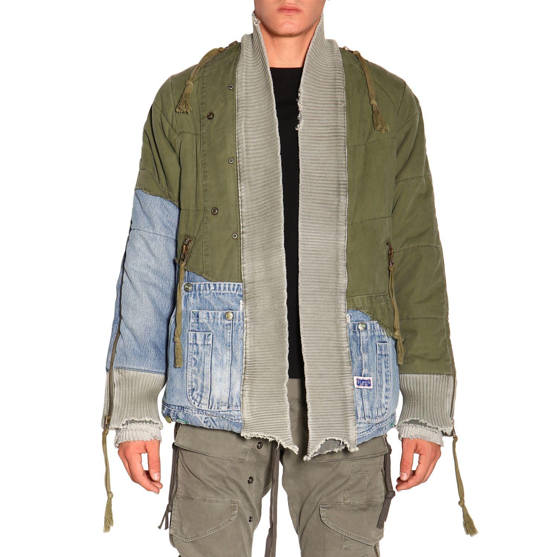 Куртка Greg Lauren: Куртка Мужское Greg Lauren зеленый 1