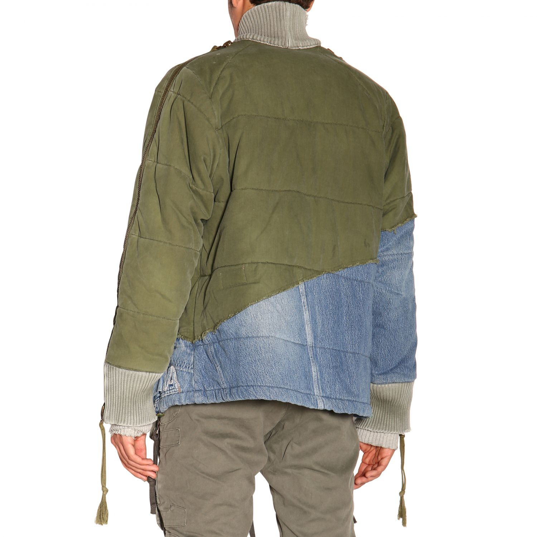 Куртка Greg Lauren: Куртка Мужское Greg Lauren зеленый 3