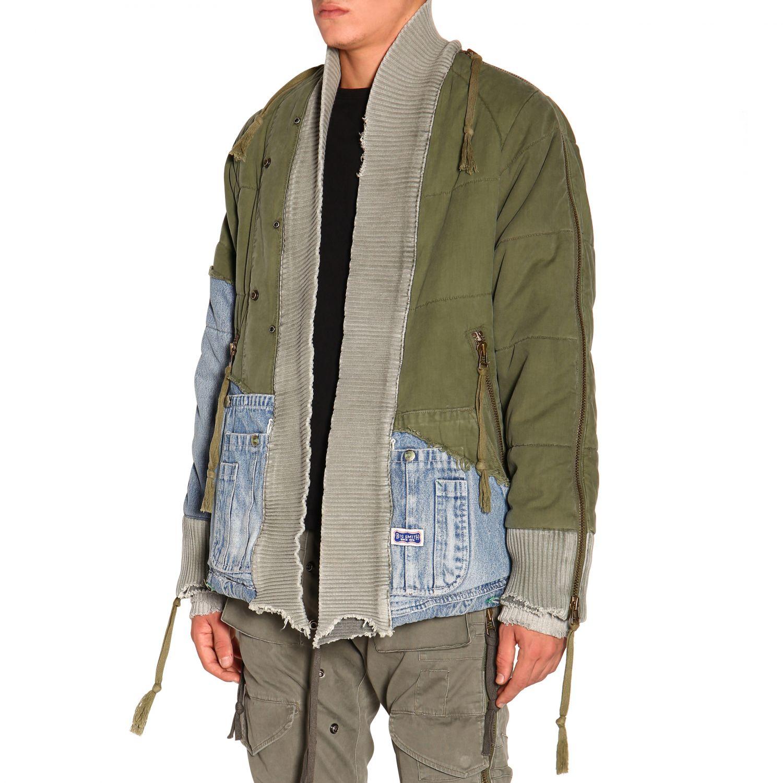 Куртка Greg Lauren: Куртка Мужское Greg Lauren зеленый 4