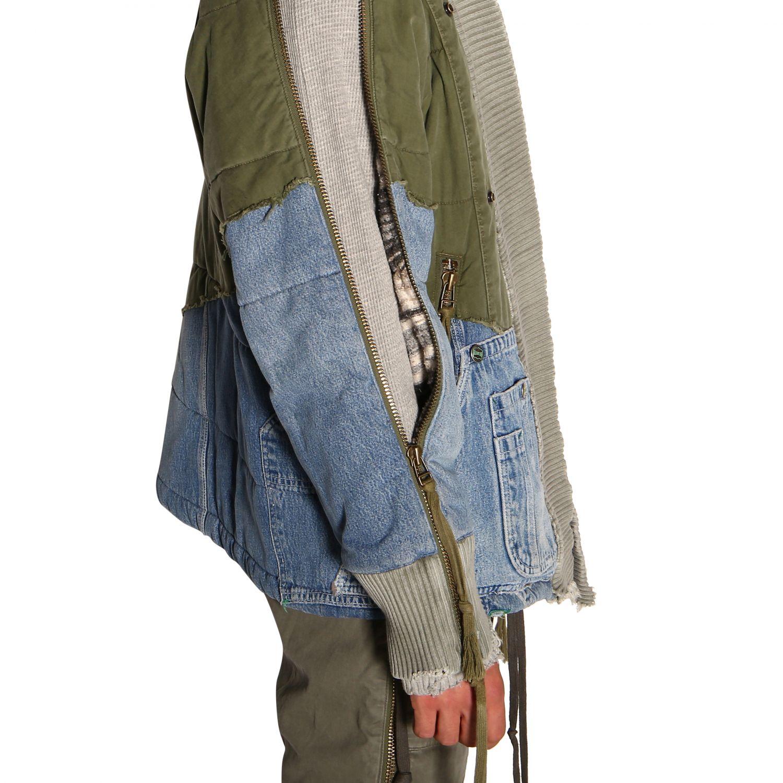 Куртка Greg Lauren: Куртка Мужское Greg Lauren зеленый 5