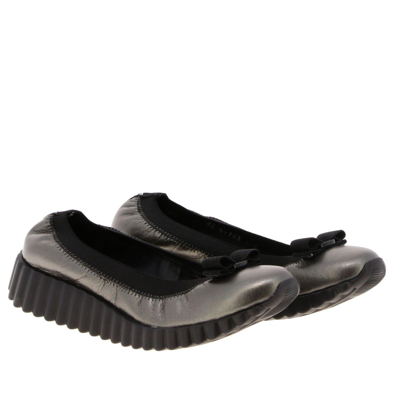 Sneakers donna Salvatore Ferragamo antracite 2
