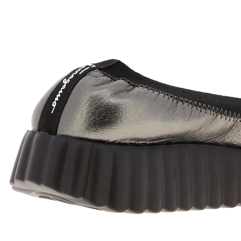 Sneakers donna Salvatore Ferragamo antracite 5