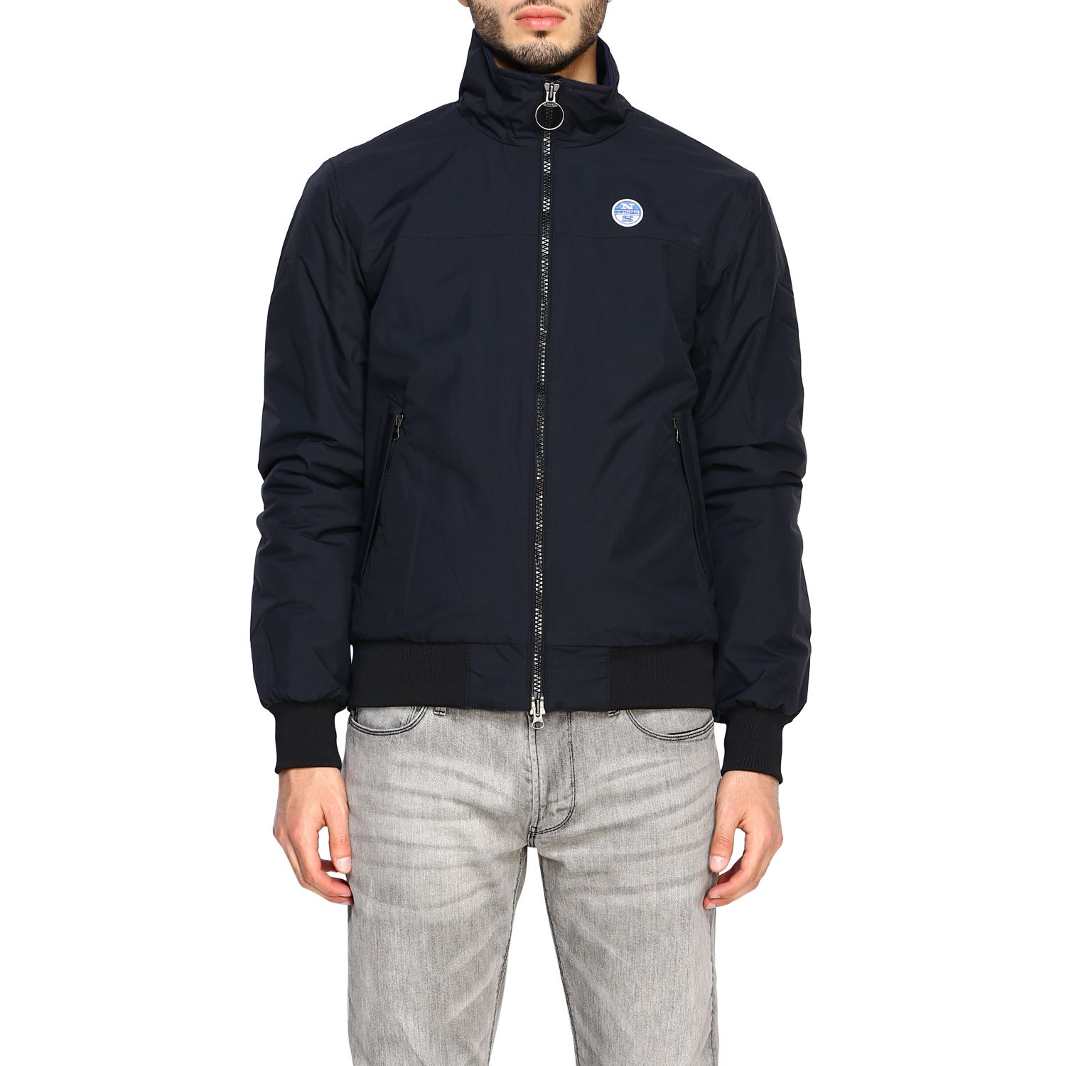 cappotto north sails nero