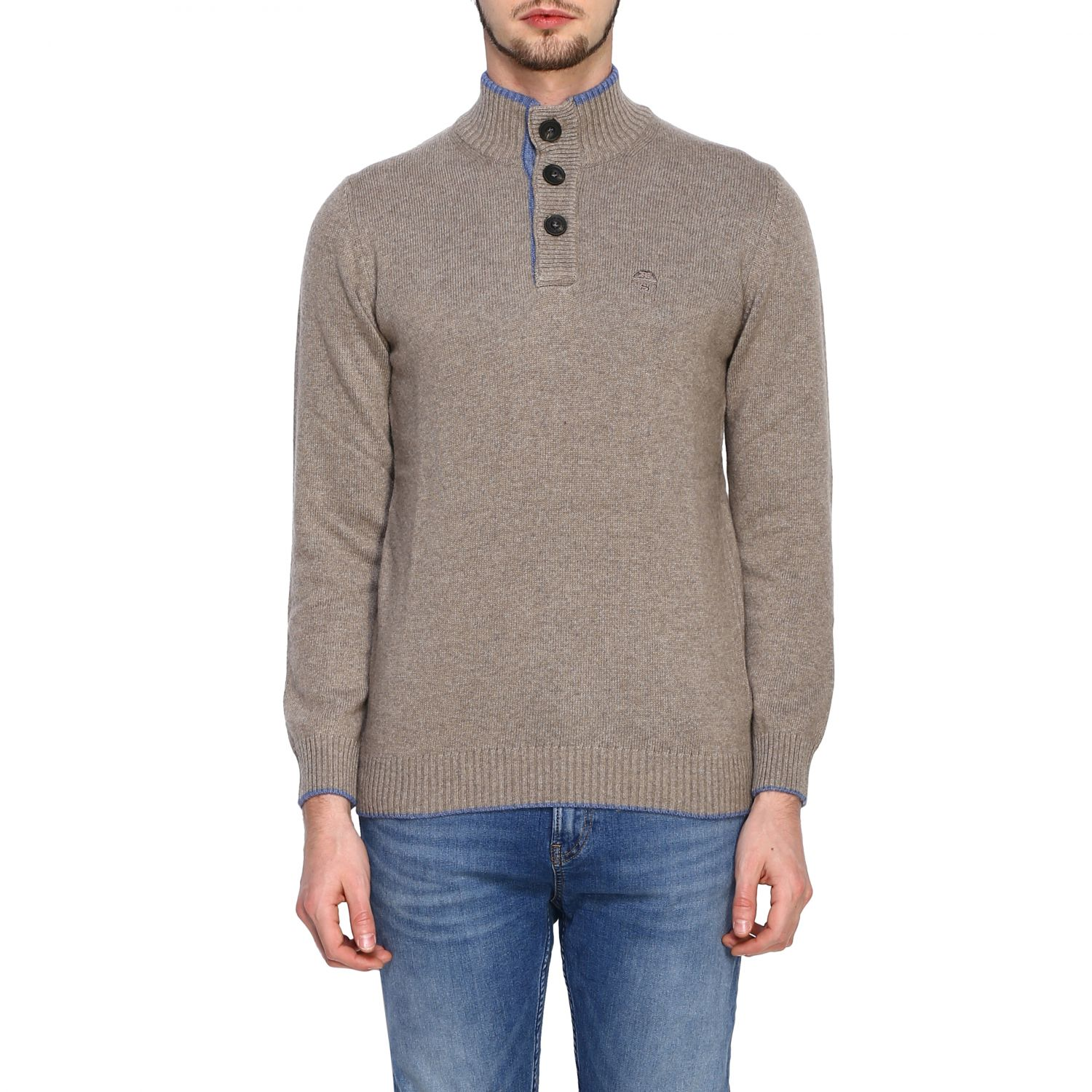 Pull homme North Sails beige 1
