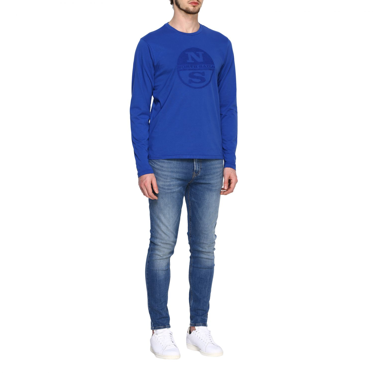 T-shirt homme North Sails bleu 2