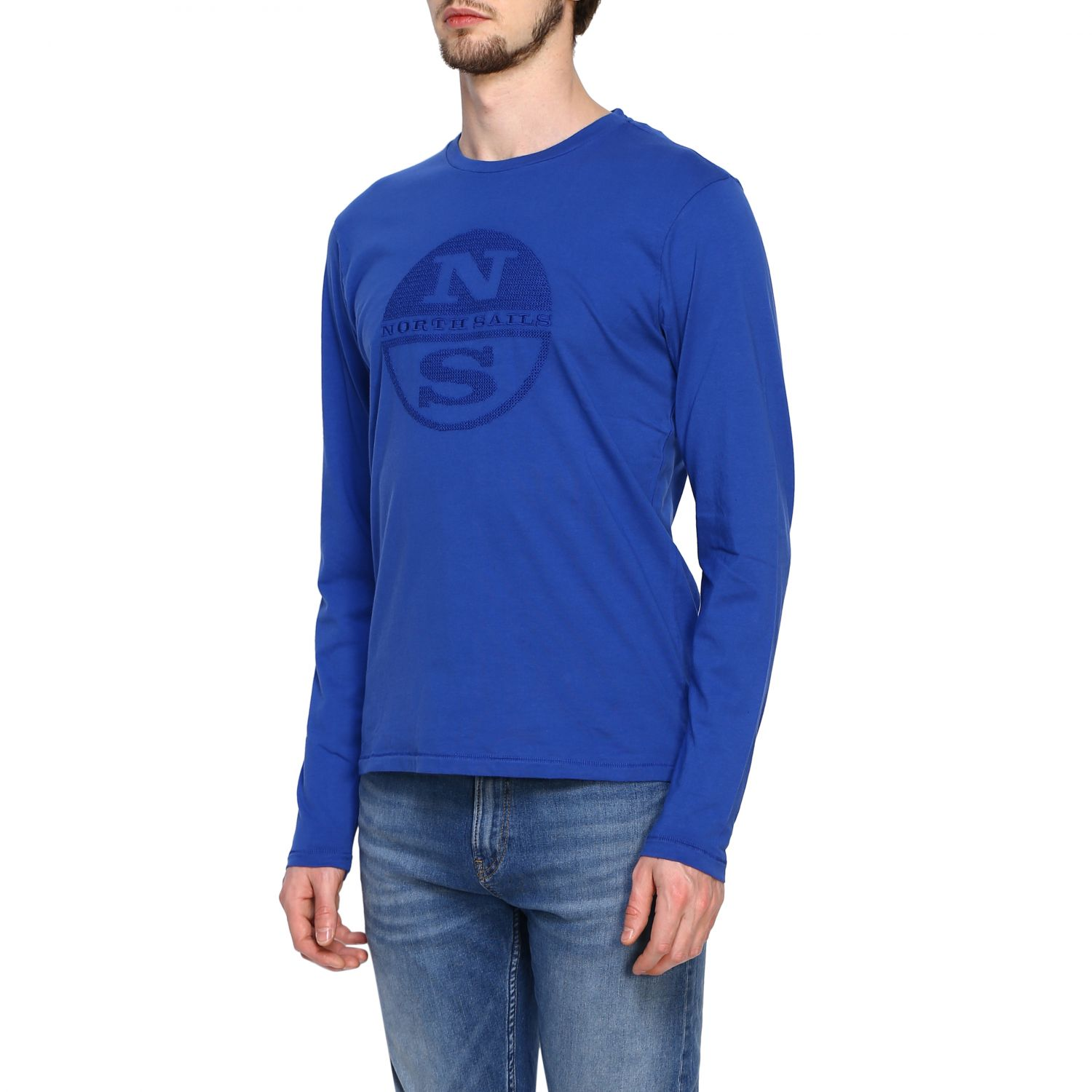 T-shirt homme North Sails bleu 4