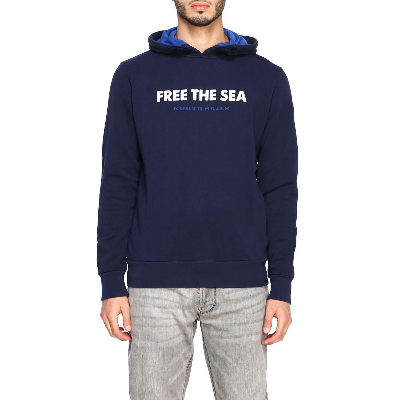 Sweatshirt North Sails: Sweatshirt men North Sails navy 1