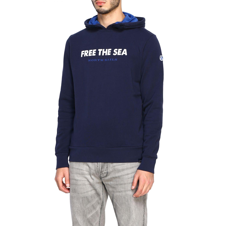 Sweatshirt North Sails: Sweatshirt men North Sails navy 4