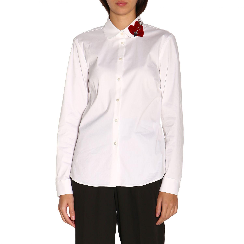 Camisa mujer Red Valentino blanco 1