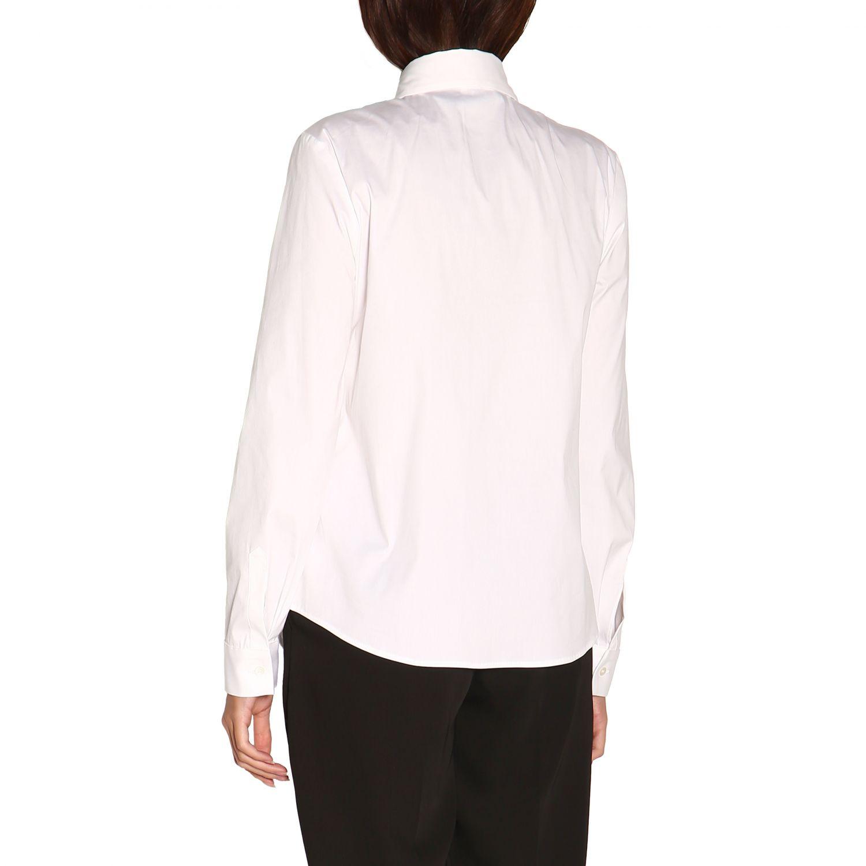Camisa mujer Red Valentino blanco 3
