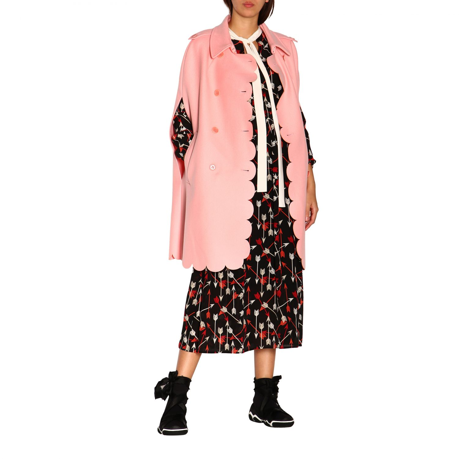 Cape women Red Valentino pink 2