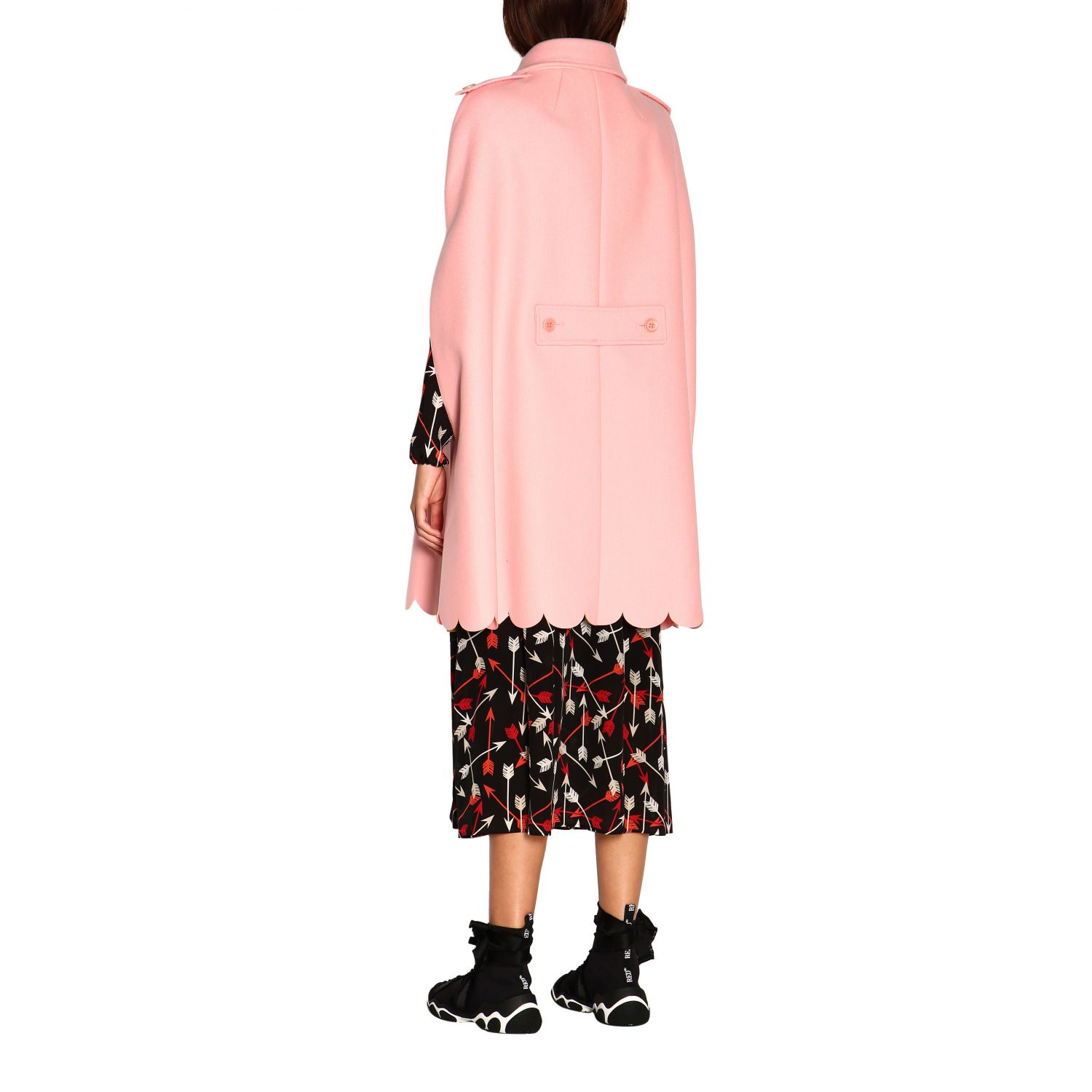 Cape women Red Valentino pink 3